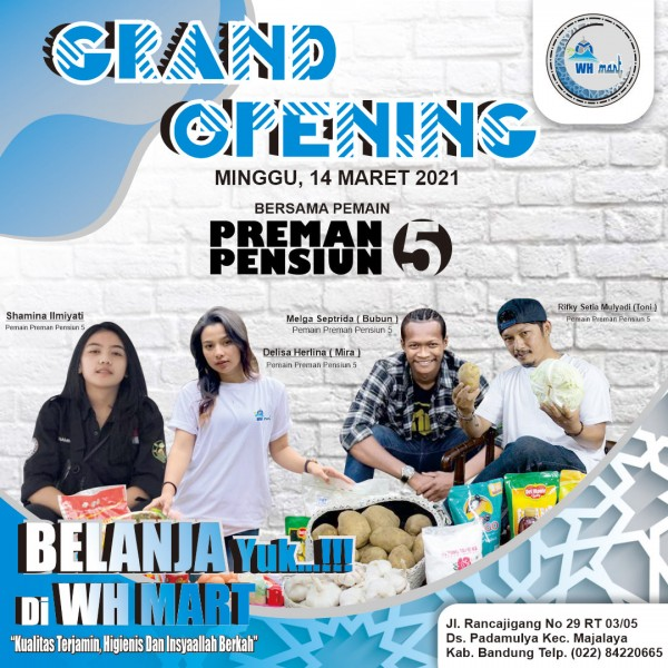 wh mart grand opening